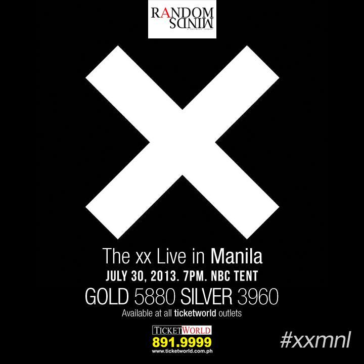 The xx live in Manila!