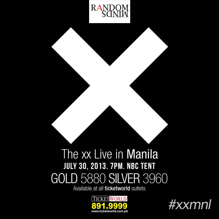 The xx live in Manila!